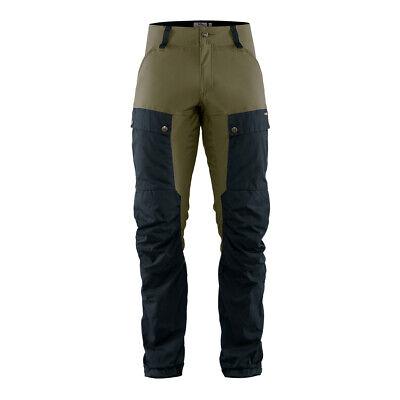 New Fjallraven Keb Trousers Regular Dark Navy / Light Olive