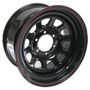 Cragar Black Steel D Window Wheels 17