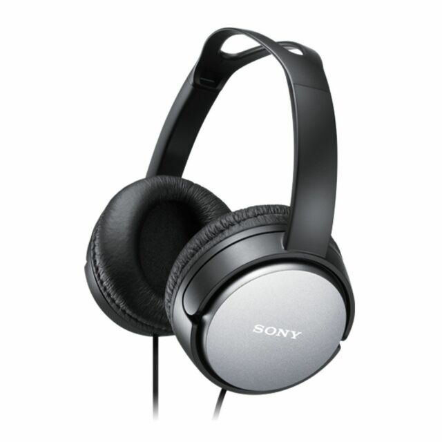 SONY MDR-XD150 BLACK Home Closed Back Overhead Padded Headphones / Brand New