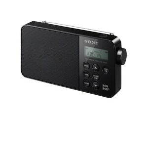SONY XDR-S40 PORTABLE DAB/DAB+/FM RADIO BLACK - BRAND NEW