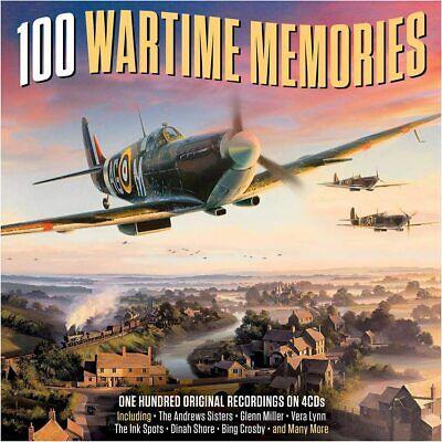 100 Wartime Memories - One Hundred Original Recordings 4CD NEW/SEALED