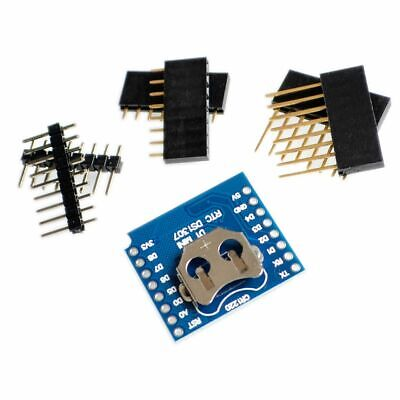 Rtc Ds1307 Real Time Clock Battery - Shield For Wemos D1