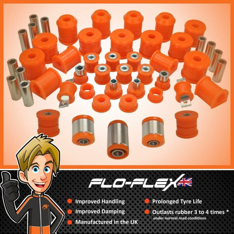 Land Rover Discovery 2 Front & Rear Bushes inc. Watts Linkage in Polyurethane