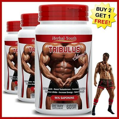 TRIBULUS EXTRACT 96% SAPONINS STRONGEST LEGAL TESTOSTERONE