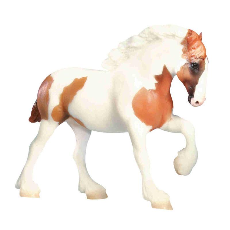 Breyer 1628 Chestnut Pinto Spotted Draft Horse Paddock Pal Scale Toy Model - NIP
