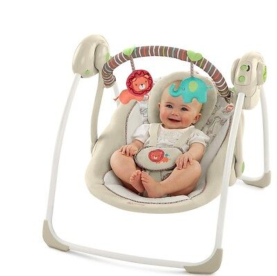 Baby Swing Bouncer Infant Portable Bassinet Seat Newborn Recliner Girl Child Set