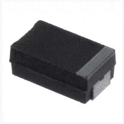 500 Pcs 1f C Case Molded Smd Tantalum Capacitor 50v 2312 6032 Metric Sm Cap