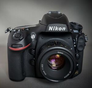 Nikon D800 body and 50mm 1.8D