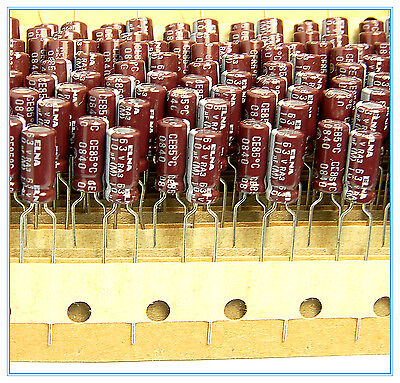 16pcs 10uf 63v Radial Electrolytic Capacitor 63v10uf Elna For Audio Series Ra3