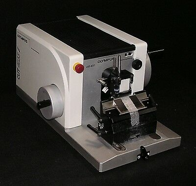 Olympus Model Cut 4055e Motorized Microtome - Fully Reconditioned