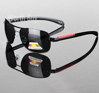 New Polarized Lens Pilot Mens Sunglasses Outdoor Sports Fashion Eyewear (Womens Sports Sunglasses)
