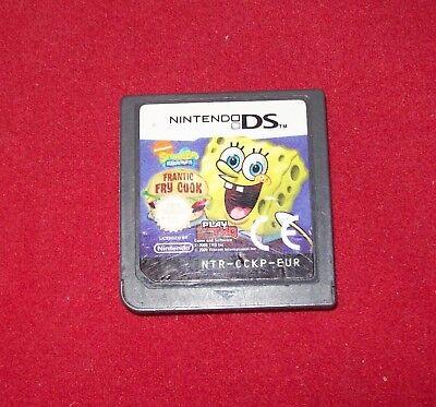 f: Küchenchef (Nintendo DS, 2009) NUR MODUL (Sponge Bob Kuchen)