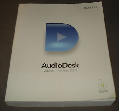 Pro-User Führt (Englisch) Motu Audio Desk Version 1 und 2 Mac OS 9 / Mac OS X. gebraucht kaufen  Versand nach Germany