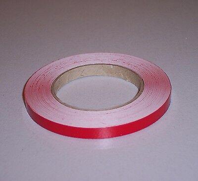 Zierstreifen Zierlinien 6 mm 10 m rot - Auto PKW Optik Dekorstreifen Design