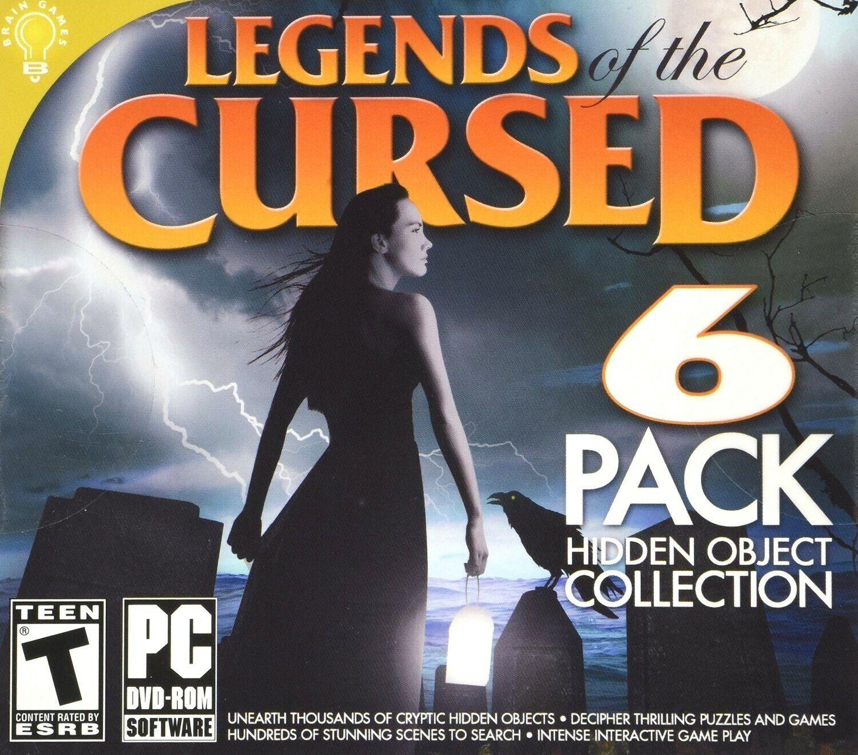 Computer Games - Legends Of The Cursed 6 PC Games Windows 10 8 7 XP Computer hidden object seek