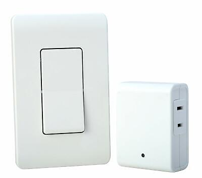 Wireless Wall Switch Remote Best Woods 59773 For Indoor Light Control