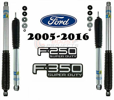 Bilstein B8 5100 Front Rear Shocks For 2005-2016 F-250 / F-350 Super Duty