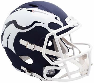 MP Mini Helm Speed Riddell Footballhelm Football (Broncos Helm)