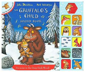 The-Gruffalos-Child-Sound-Book-Donaldson-Julia-Excellent-Book