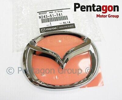 genuine Mazda MX5 mk2 Front wings nosecone bumper badge NB 1998-2000 MX-5 64mm