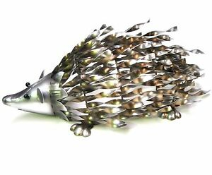 Echidna Ornament Statue Metal Garden Sculpture Art Porcupine BIG *38cm*