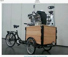 Icycle trycecle mobile coffee lemonade kart Thornbury Darebin Area Preview