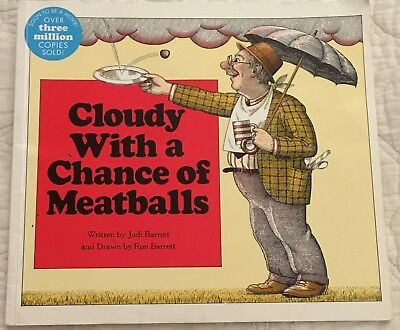 Cloudy with a Chance of Meatballs Aladdin Paperbacks Ron Judi Barrett (Cloudy With A Chance Of Meatballs Illustrations)