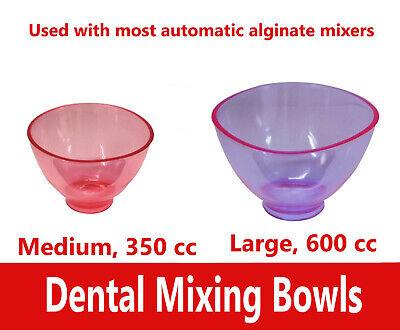 Dental Impression Material Mixing Bowls Flexible Mixing Bowl Medium Or Large