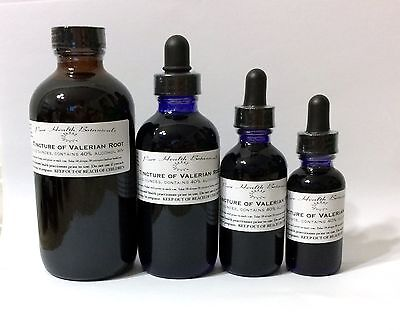 Valerian Root Tincture Extract  Insomnia  Anxiety  Stress Relief  Sleep Aid