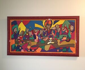 Last supper oil painting