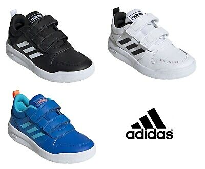 ADIDAS BOYS JUNIOR KIDS SHOES TENSAURUS VELCRO STRAP TRAINERS SNEAKERS SPORTS
