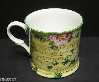 1 Melody Rose Small English Fine Bone China Mug Cup By Milton China Small Bone China
