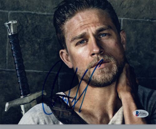 Charlie Hunnam Signed Autographed 8x10 Photo SONS OF ANARCHY BAS COA