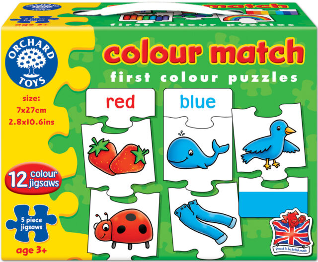 Orchard Toys COLOUR MATCH Baby/Toddler/Child Jigsaw Puzzle Education - BN
