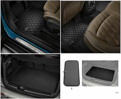 OEM Mini Cooper Countryman F60 All Weather Front & Rear Floor Mat & Boot Mat -
