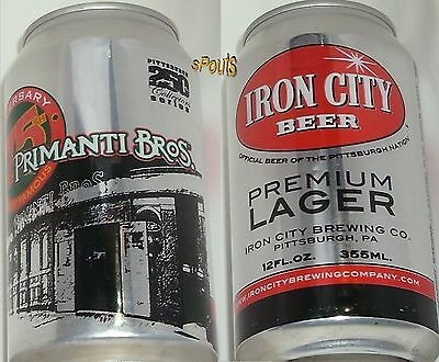 Pittsburgh Pennsylvania Florida Primanti Bros Historic Restaurant Pub Beer Can