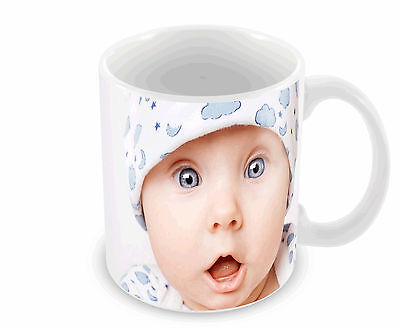 Personalised Mug Cup Custom Gift Your Image Photo & Text  & Design Free P&P