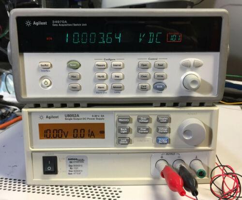 Agilent HP 34970A Data Acquisition Data Logger Switch Unit w/ 6.5 Digit DMM
