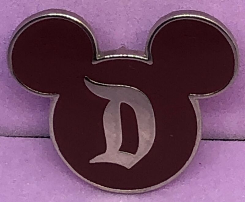Disneyland Security Red Mickey Mouse Ears Icon Pin