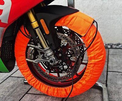 Superbike Pro Reifenwärmer Vorn 120 Hinten 180-200 Neu