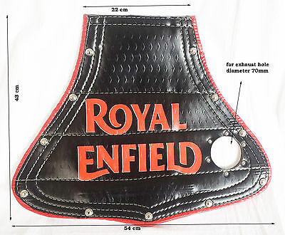 ROYAL ENFIELD BULLET CLASSIC REAR MUDGUARD'S MUD FLAP WITH PRINT