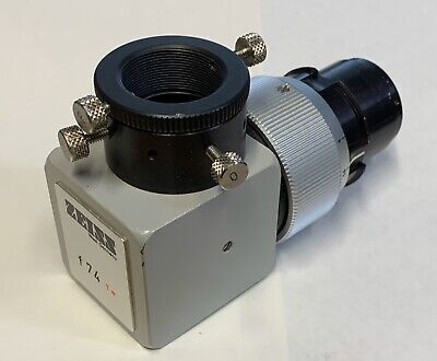 Zeiss F74 T Camera Adapter W C-mount For Opmi Surgical Microscope