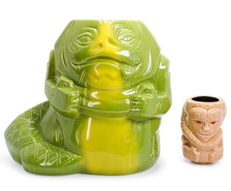 Geeki Tikis Star Wars Jabba The Hutt & Bib Fortuna Collectible Mugs | Set Of 2
