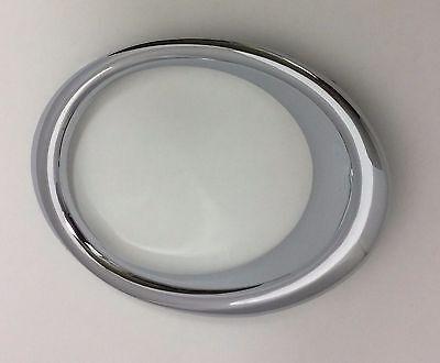 Chrome Fog Light Trim - PASSENGER RH SIDE FOG LIGHT BEZEL CHROME TRIM RING FOR FORD FUSION 2013 - 2016