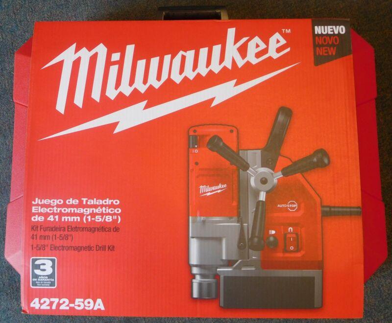 "Milwaukee 4272-59A 1-5/8"" Electromagnetic Drill Kit (European Version)"