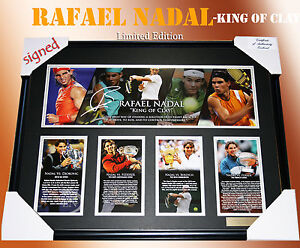 new-RAFAEL-NADAL-KING-OF-CLAY-TENNIS-MEMORABILIA-SIGNED-LIMITED-EDITION-499