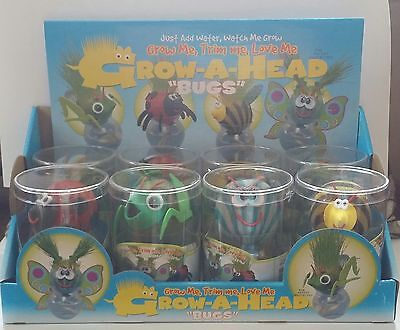 GROW-A-HEAD BUGS (Sold Individually). FREE SHIPPING