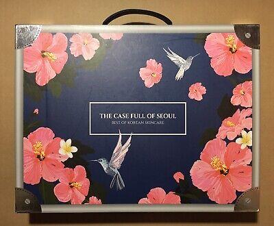 1 BRAND NEW THE CASE FULL OF SEOUL BEST OF KOREAN K-BEAUTY SKINCARE GIFT BOX
