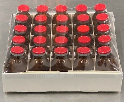 30ml Sterile Serum Vial Amber 25 Pack