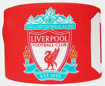 df6ecb6d6 Liverpool FC Captain Armband Fascia Capitano Brazalete Capitan England